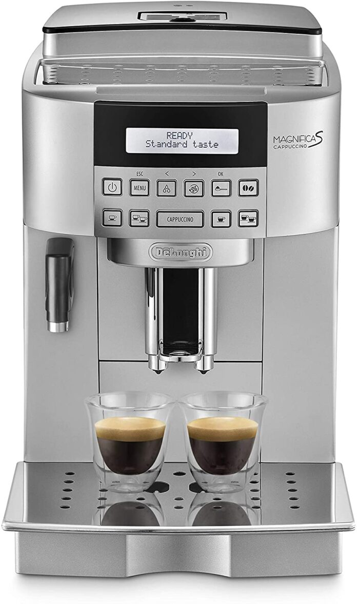 Macchine da caffè superautomatiche dal chicco alla tazza
