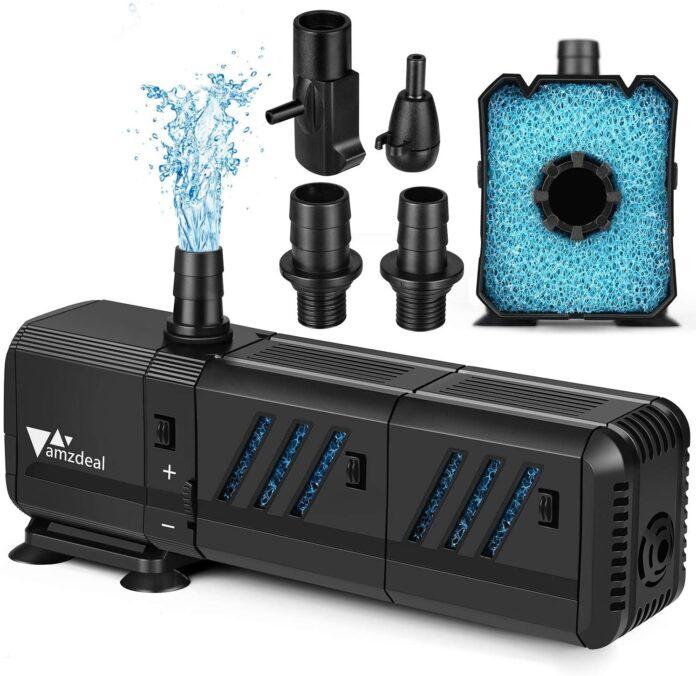 Pompe e filtri per acquario