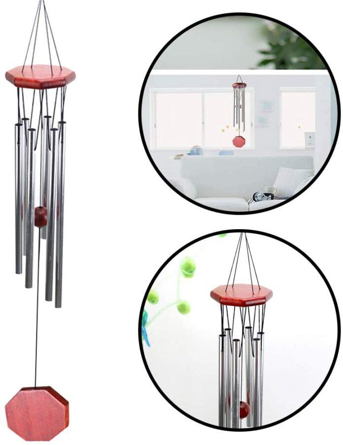 Campane tubolari da giardino