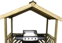 Casette in legno per barbecue