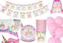 Stoviglie per feste e compleanni per bambini